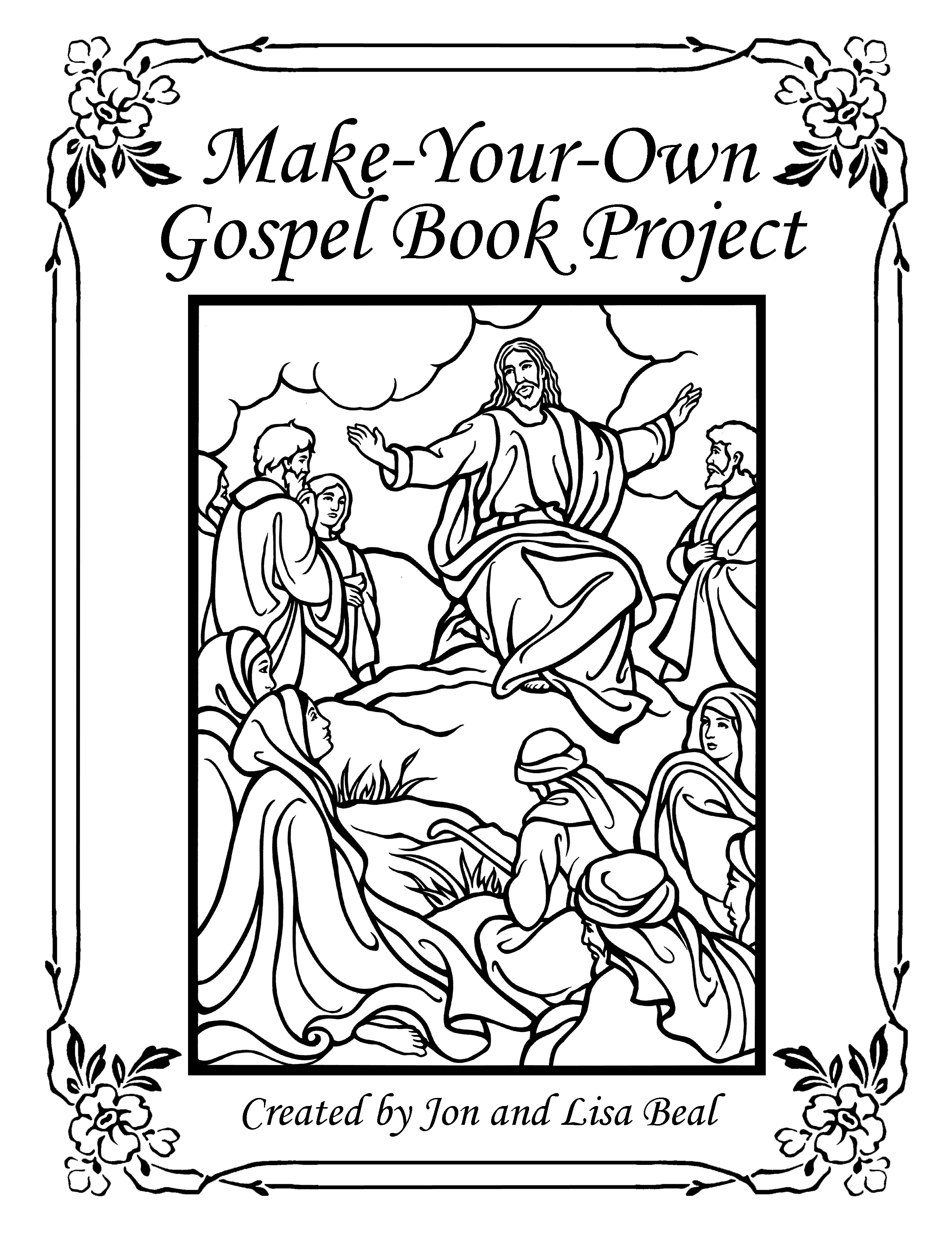 Make-Your-Own Gospel Book Project